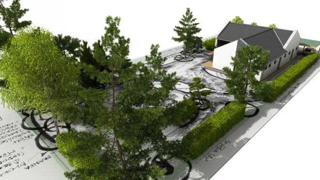 Vizualizace zahrad